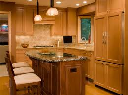 oak cabinet kitchen