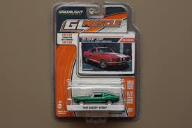 machine a pomme d amour greenlight gl muscle series 11 1967 shelby gt500 green machine