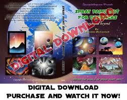 Spray Paint Artist - spray paint art for beginners digital download u2013 spacepaintings com