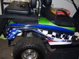 Golf Cart Flags Golf Cart Full Color Large American Flag Adrenalin Rush Stripe