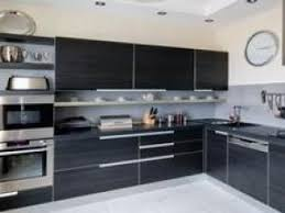 le pour cuisine moderne cuisine noir blanc cuisine blanc et noir ultra design