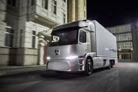 mercedes truck 2016 mercedes benz unveils all electric urban etruck at iaa