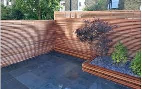awesome photo wood fence ideas using u shaped steel post image of