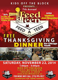 the block host it s 7th annual feed a thanksgiving