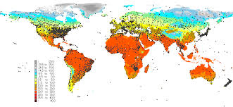 what is a climate map climate index map