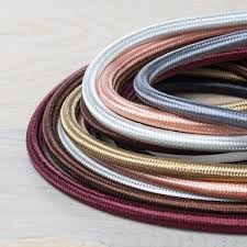 cloth covered electrical wire color cord company
