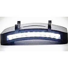 clip on visor light lightahead super bright 11 led hat cap clip light cing fishing