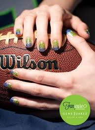 seahawks manicure u0026 pedicure my own creations pinterest