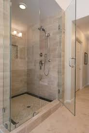 Glass Doors For Shower Shower Curtain Vs Sliding Glass Door Gopelling Net