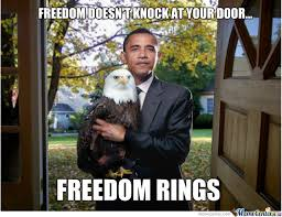 Obama Dog Meme - obama freedom by guernel meme center
