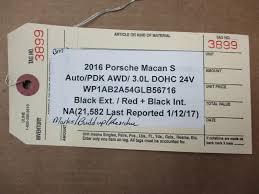 porsche pouch 16 macan s rwd porsche interior carpet trim pouch 21 582 n a