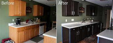staining kitchen cabinets before and after kitchen before and after gel staining of cabinets