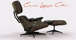 Charles Eames Ottoman Chair Design Ideas Furniture Gorgeous Eames Lounger With Tufted Design And Ottoman
