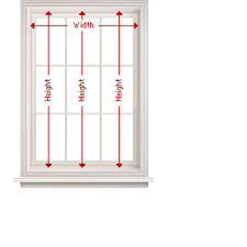 window measurements how to measure blinds shades