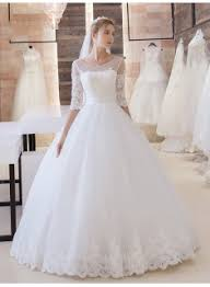 half lace wedding dress high quality princess wedding dresses buy popular princess