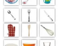 cuisine en maternelle mémo loto les ustensiles de cuisine par cubesetpetitspois