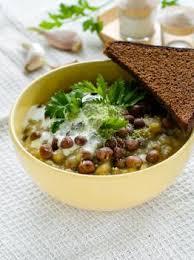 cuisiner les lentilles vertes soupe aux lentilles vertes recettes de cuisine française