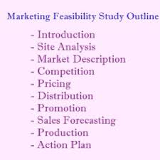 market feasibility study outline u2013 proposal guidelines and samples
