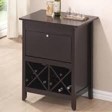 Oak Bar Cabinet Concepts In Wood 21 Bottle Dry Oak Bar Cabinet Wc1572 D The Home