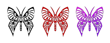 butterfly tribal by shadow696 on deviantart