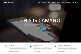 camyno premium wordpress theme wordpress business themes