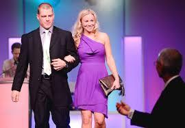 senators wife senators chris neil and his wife at bell sens soiree event held at