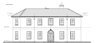 Georgian House Plans Architectural Style And Floor Plans Ridge End