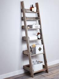 Diy Leaning Ladder Bathroom Shelf by Ana White Leaning Ladder Wall Bookshelf Diy Projects Wooden