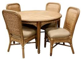 Best Indoor Wicker And Rattan Dining Sets Images On Pinterest - Rattan dining room set