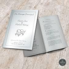 Wedding Booklets Wedding Mass Booklets
