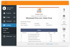 Wholesale Price Sheet Template Price List Templates Easily Create Product Price Lists Catalog