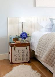 furniture cute little trunk doubles nightstand combined with