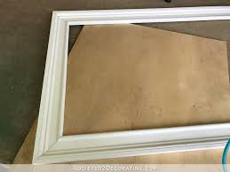 Decorative Wall Frame Moulding How To Build An Easy Diy Custom Frame For A Wall Mounted Tv U2013 Part 1