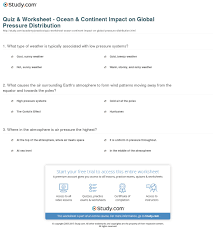 continents and oceans quiz worksheet worksheets