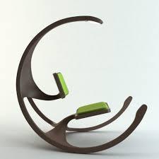 unique design modern interpretation of the rocking wheel chair with unique