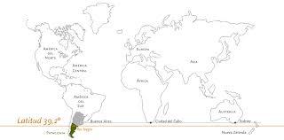 Patagonia Map Humberto Canale Carácter Patagónico