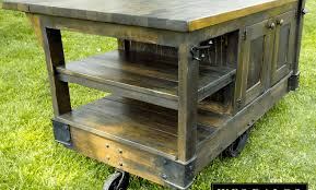 rustic kitchen islands and carts cabinet modern kitchen island cart amazing rustic kitchen island