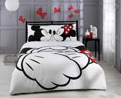 Eiffel Tower Comforter Amazon Com Paris Home 100 Cotton 5pcs Disney Minnie Loves Kisses