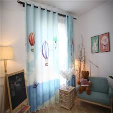 aliexpress com buy boys children room shade curtains blue