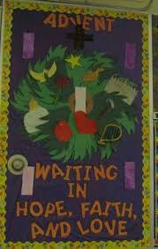 Religious Christmas Door Decorations Advent Bulletin Boards Google Search Bulletin Boards Window
