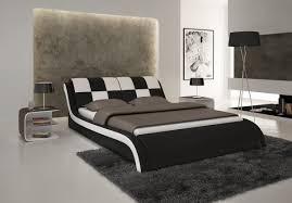 Modern Black And White Bedroom Black And White Bedroom Theme Via Modern Furniture La Furniture Blog