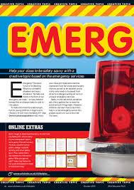 creative topic emergency u2013 primary ks1 teaching resource scholastic