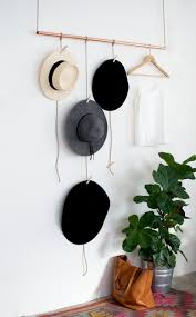 Key Storage Ideas Hang Up Your Fedoras And Stetsons With These 22 Diy Hat Racks