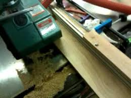 table saw power feeder ripping boards with a power feeder youtube