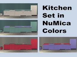 Pink Retro Kitchen Collection Mod The Sims Downloads U003e Buy Mode U003e By Room U003e Kitchen