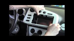how to remove dash panels in 2003 2008 pontiac vibe youtube