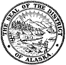 alaska coloring pages alaska state seal coloring page