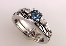 Custom Wedding Rings by His And Hers Custom Wedding Rings Or Is It Hers And His Mardon