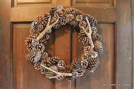 diy antler wreath in 10 minutes the country chic cottage