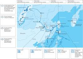 Map Of Russia And China by China Russia And East Siberian Natural Gas Oilprice Com